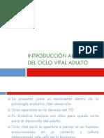 Clase 1.5 Intro Ciclo Vital II