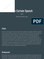 Iron Curtain Speech