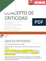 criticidad