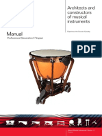 Timpani Manual Professional II