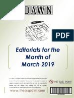 Monthly Dawn Editorials March 2019.pdf