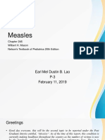 Measles Pediatrics