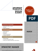 the outsiders argumentative essay presentation