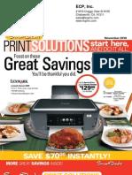 November 2010 Print Solution - Smart Deals 1-800-718-8086