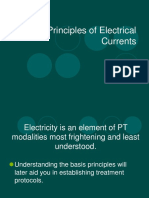 Principles of electric current