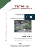 Mur Souténement Rapport Etude Geotec