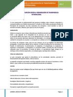 FORMAS DE CORRUPCIÓN SEGÚN LA ORGANIZACIÓN DE TRANSPARENCIA INTERNACIONAL