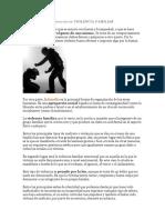 Definición de Violencia Familiar