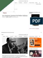 Los Mejores Poemas de Pedro Salinas