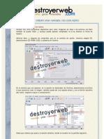 Destroyer Web - Crear Una Imagen Iso Con Nero