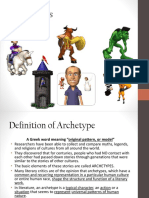 Archetypes PowerPoint Durland