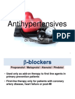 Antihypertensives Lecture