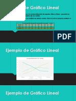 Ejemplos de Los Graficos Lineales y Circulares