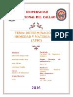 Lab q.a. Nº1 Humedad 2