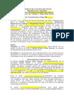 MODELO DE ACTA DE CONCILIACIÓN ANTE MINISTERIO DEL TRABAJO