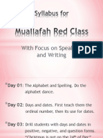 Red Syllabus