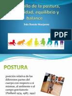 Desarrollo de La Postura, Estabilidad, Equilibrio