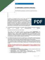 Acta de Compromiso proyecto Feriadex