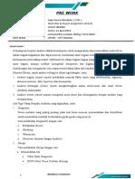 Pre Work - Work Plan & Project Assignment Scheme