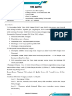 Pre Work-Building Customer Service Mindset & Skill