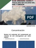 Conversión de Unidades Gases