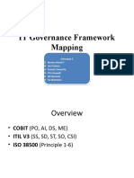 IT Governance Framework Mapping
