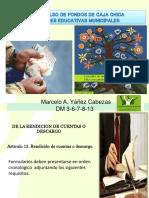 Cajas Chicas Descargo- Capac. 2