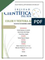 INFORME DE TEXTURA-EDAFOLOGIA