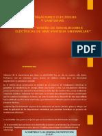 """""""DISEÑO DE INSTALACIONES ELÉCTRICAS DE UNA VIVIENDA UNIFAMILIAR"""""""
