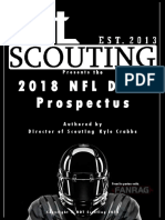 NDT Scouting 2018 NFL Draft Prospectus by Kyle Crabbs