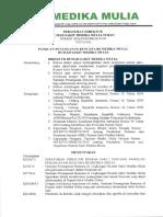 Peraturan Dir Ttng Panduan Penanganan Bencana Rs Medika Mulia