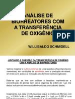 Analise Biorreatores Com Transferencia de Oxigenio