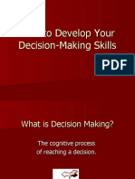 How to Develop Your Decision-Making Skills
