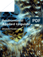 Pennycook 2018 - Posthumanist Applied Linguistics
