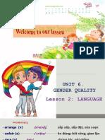 Unit 06 Gender Equality Lesson 2 Language.ppt