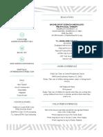 resume  pdg