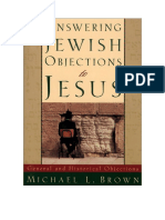 - Respondiendo a Las Objeciones Judías a Jesús Volumen 1 - Michael L. Brown