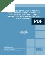 polinización in vitro de la fresa
