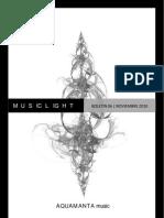 MusicLight Boletín 06 (Noviembre 2010)