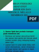 2.Membran Fisiologi Saraf Otot