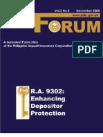 PDIC Forum December 2004