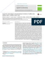 Long-term Mineralogical and Geochemical Evolution of Sulfide Mine Tailings Under a Shallow Water Cover_Moncur_Ptacek_Lindsay_Blowes_Jambor