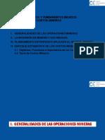 Conceptos y Fundamentos Basicos de Costos Mineros