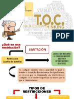 Toc - teoria de restricciones