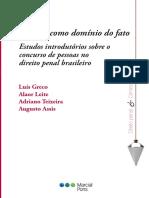 O Que é e o Que Não é a Teoria Do Domínio Do Fato - Luís Greco e Alaor Leite