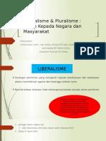 Liberalism & Pluralisme TITAS