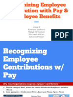 Recognizing Employee Contribution With Pay & Employee Benefitse