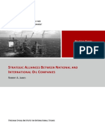 WhitePaperStrategicAlliancesBetweenNationalandInternationalOilCompanies102011