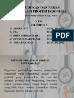 Kedudukan dan Pern Organisasi Indonesia