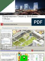 Equipamiento Ornato y Mobiliario Urbano